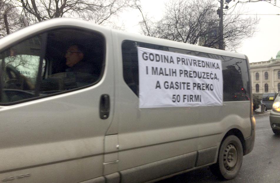 protest kombi prevoznika