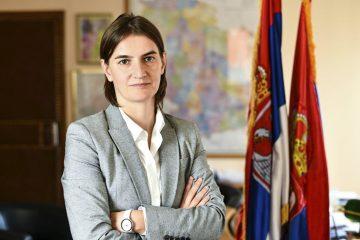 REKONSTRUKCIJA VLADE U MAJU Ana Brnabić: Za sada nema promene ministara, važnije Kosovo
