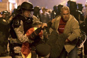 U neredima u Makedoniji 45 povređenih