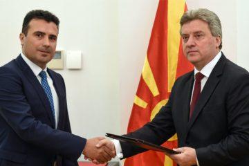 Kraj političke krize u Makedoniji, Ivanov dao mandat Zaevu za sastav Vlade