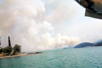 CG: Požari i dalje aktivni, ali konačno pod kontrolom